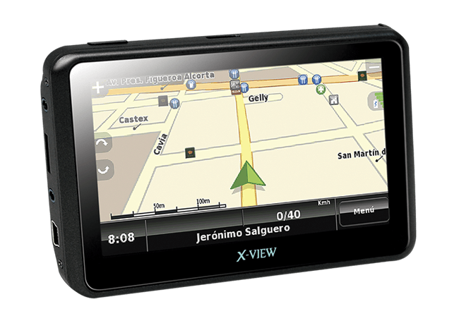 X-View | Mobile Location | Navigator WS2 4.3